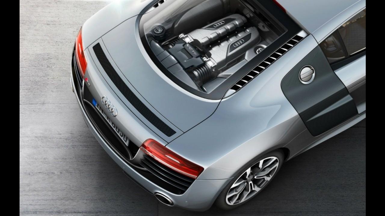Novo Audi R8 2013 é revelado - Veja galeria de fotos do superesportivo
