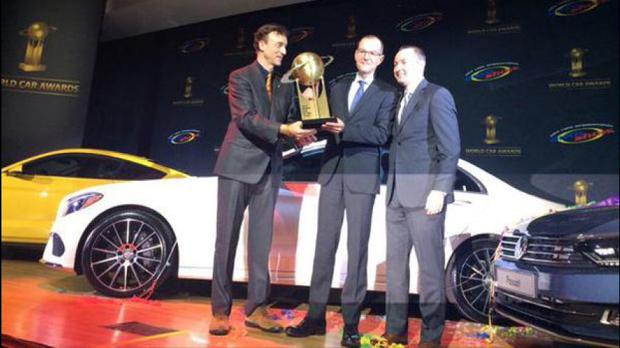 World Car of The Year 2015: stravince Mercedes