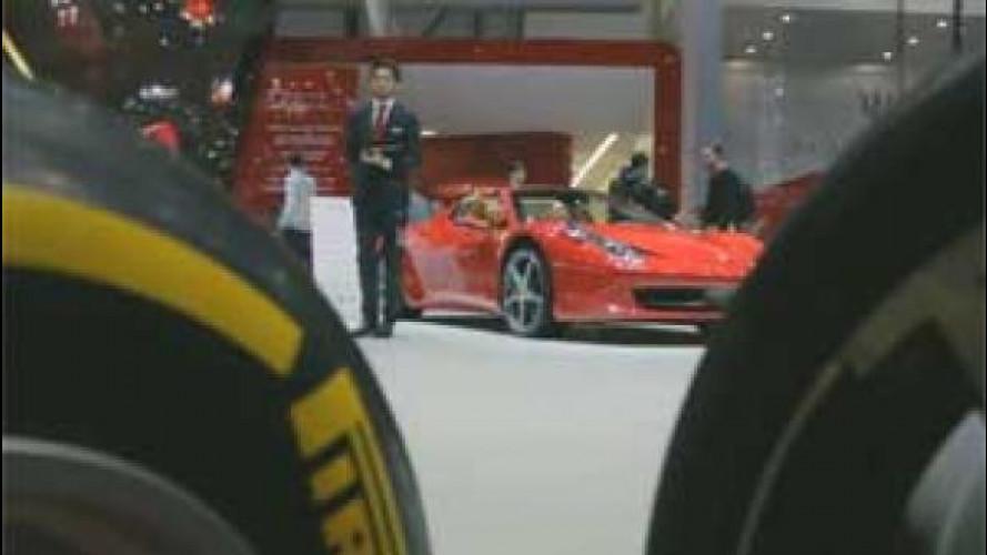 Le gomme Pirelli sono già pronte per il Salone di Ginevra 2015
