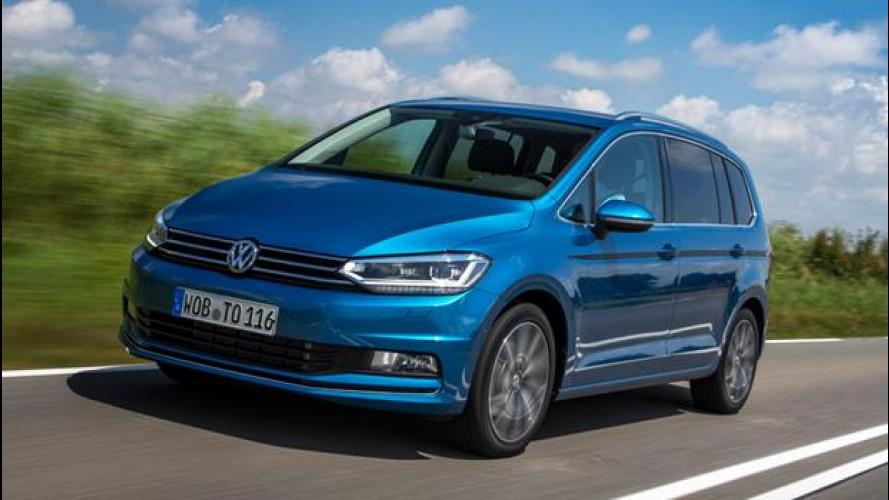 Nuova Volkswagen Touran, hi-tech per tutta la famiglia