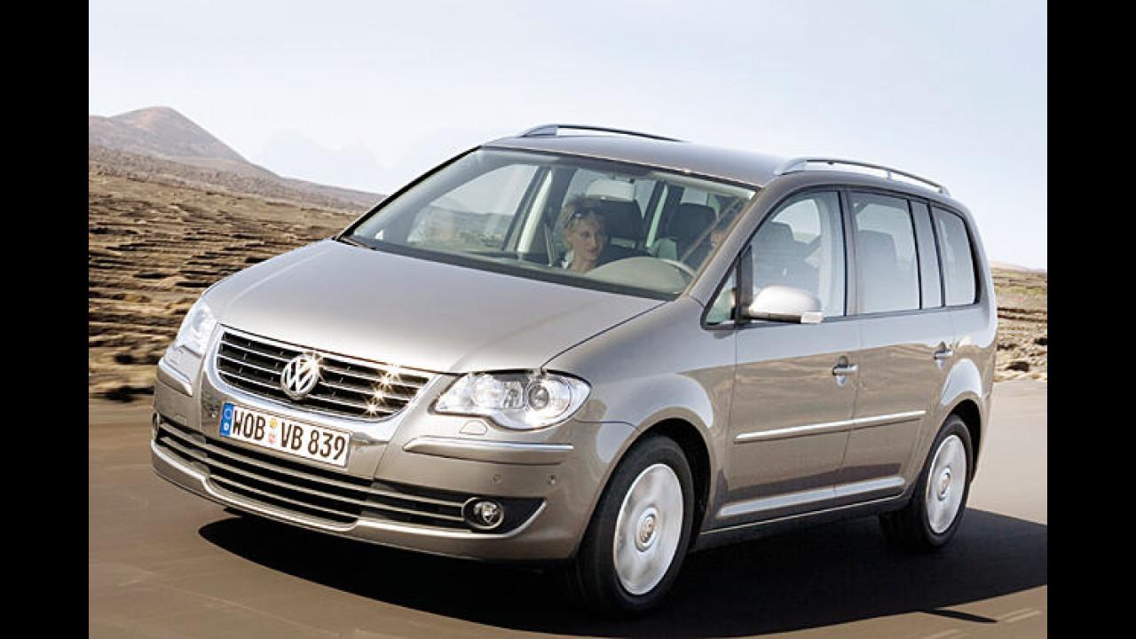 VW enthüllt den 2007er-Touran