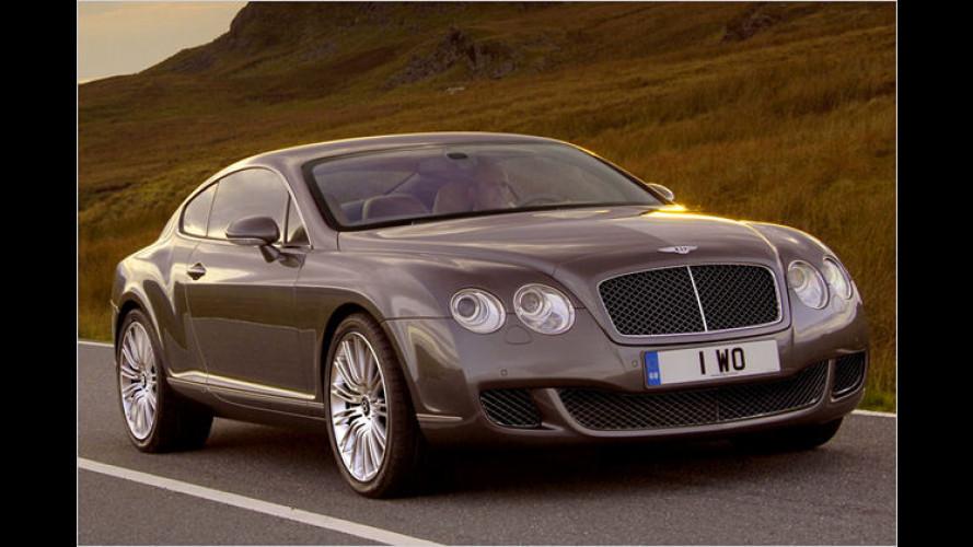 Bentley Continental GT Speed: Stärkster Bentley aller Zeiten