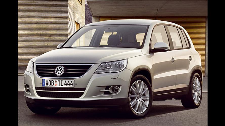 Kompakt-SUV Tiguan: VW lässt die letzten Hüllen fallen