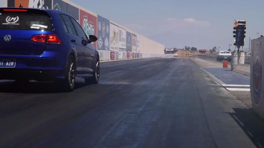 Egy VW Golf R MK7 vette el a Dodge Demon negyedmérföldes rekordját