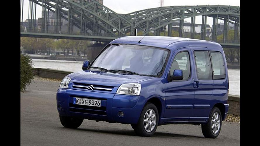 Citroën Berlingo: ABS nun auch in der Basisversion