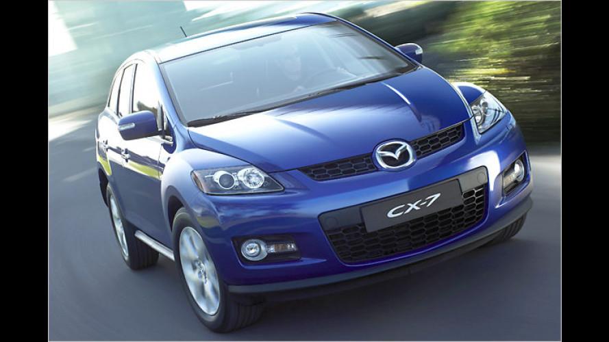 Mazda bietet den CX-7 Expression mit einem Preisvorteil an