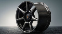 Egyedi Porsche-felnik fonott karbonszálakkal