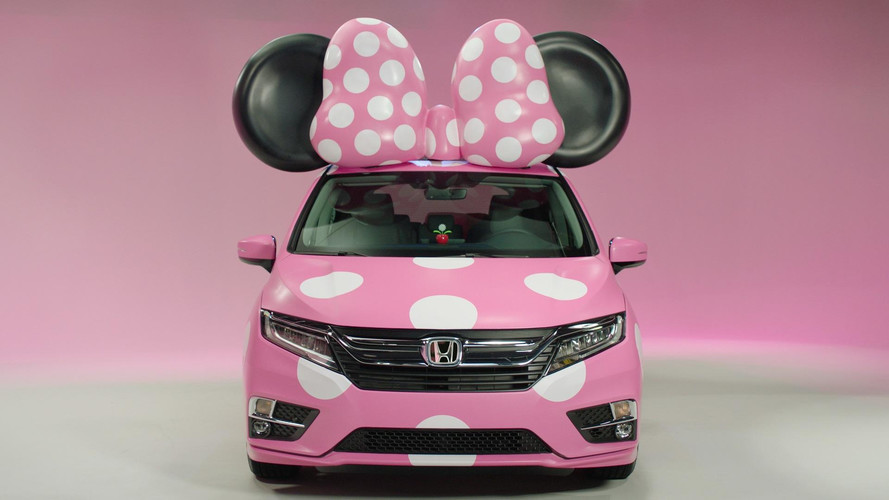 Honda Odyssey Minnie Van