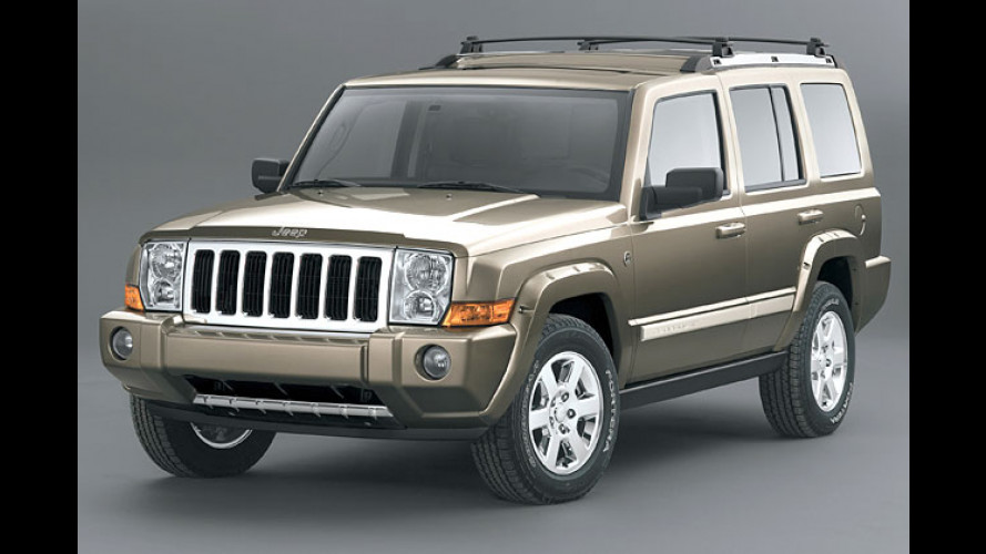 Jeep Commander: Still gesessen in drei Reihen
