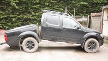 Nissan Navara snapped chassis