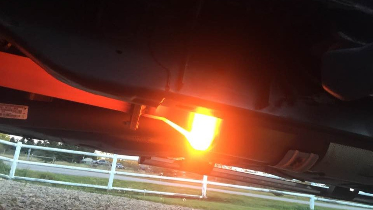 Flame-shooting Ford truck in Alberta sparks controversy