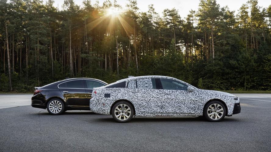 2017 Opel Insignia Grand Sport prototype