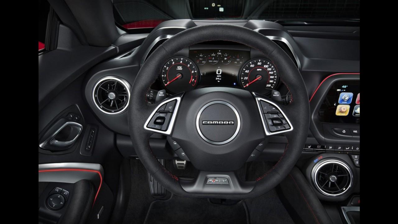 Mais nervoso, Camaro ZL1 2017 de 659 cv tem preço inicial de US$ 62,1 mil nos EUA
