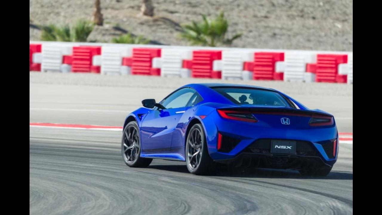 """Como a Porsche """"trollou"""" a Honda durante o desenvolvimento do novo NSX"""