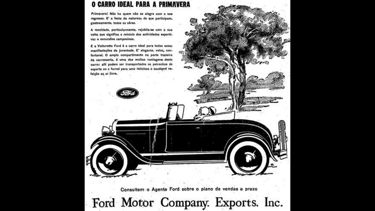 Inaugurada pelo Modelo T, produção da Ford no Brasil completa 97 anos