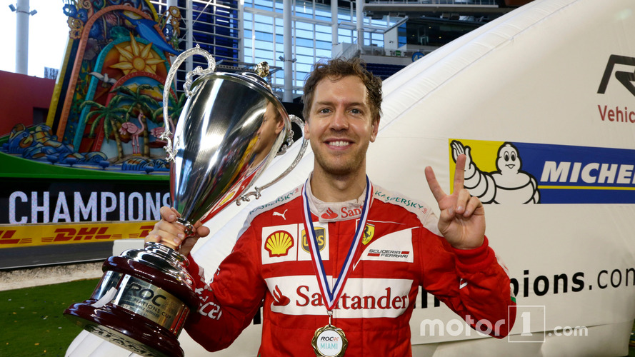 Sebastian Vettel delivers Germany seventh Race of Champions win