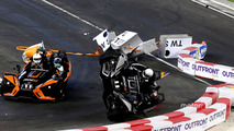Pascal Wehrlein crash during 2017 Race of Champions