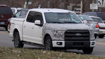 Ford F-150 PHEV Test Mule Spy Photos