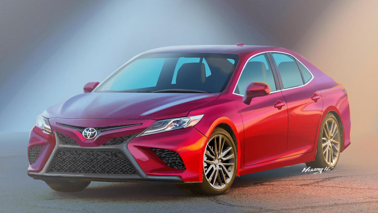 2018 Toyota Camry Rendering