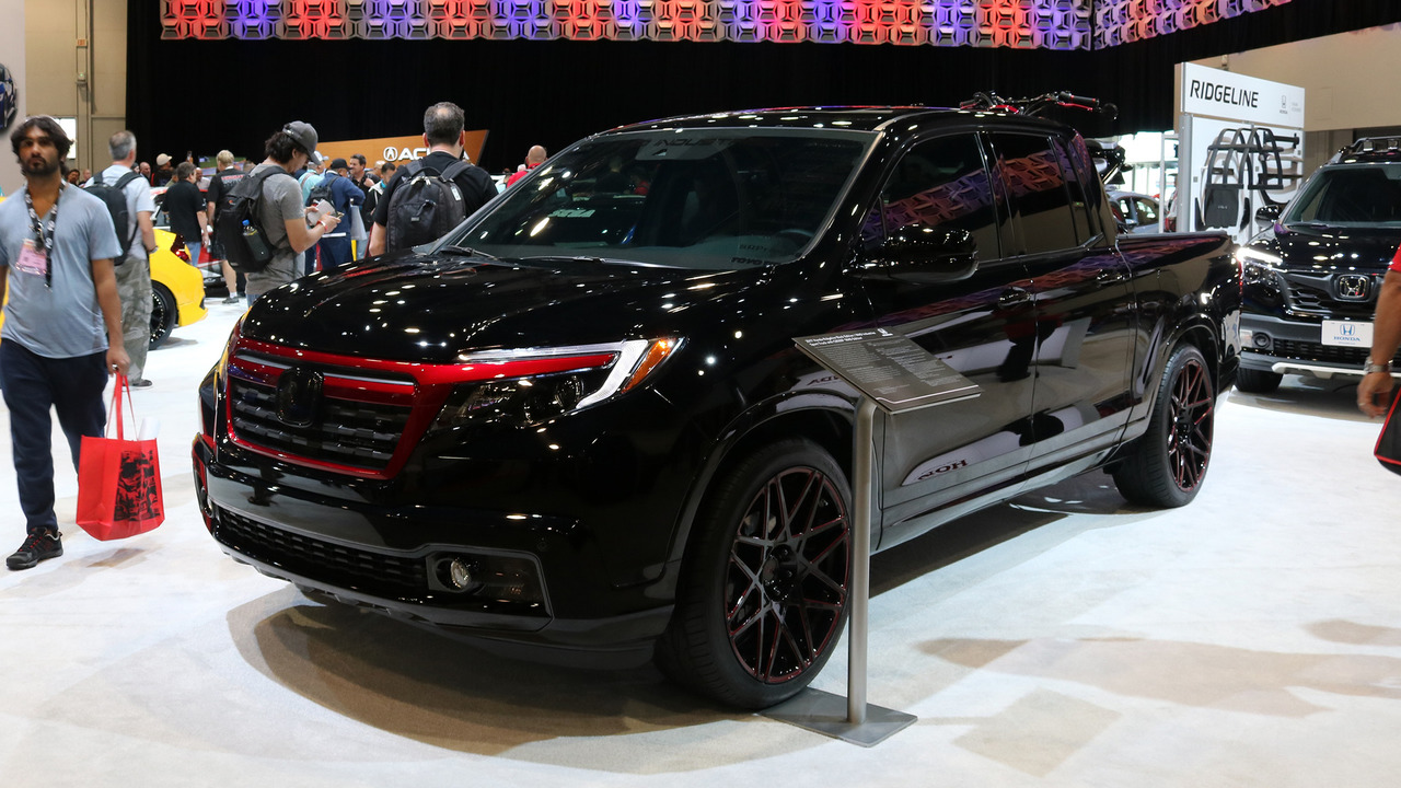 2017 Ridgeline Off Road >> Honda Civic and Ridgeline concepts show tuning potential at SEMA