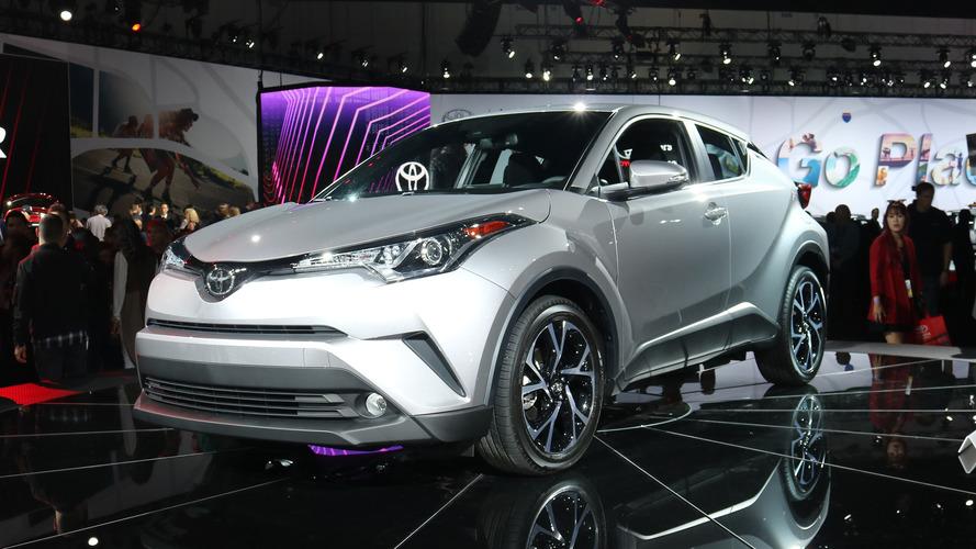 2018 Toyota C-HR tüm şıklığı ve verimliliğiyle L.A.'de