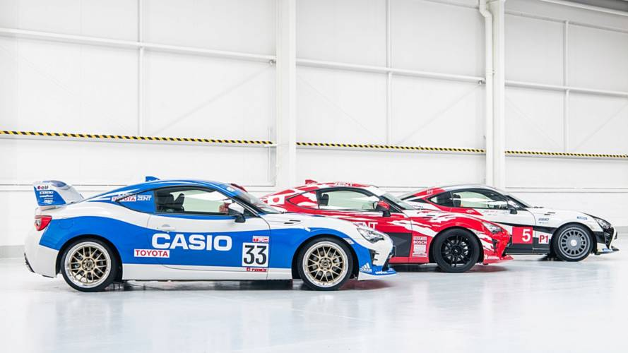 Toyota 86 Gets Three Heritage Liveries Celebrating Le Mans