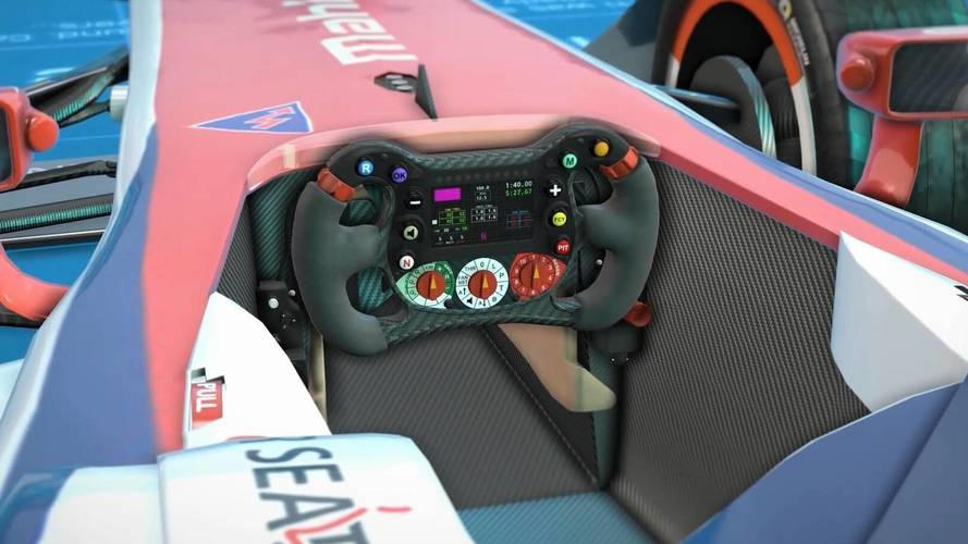 Mahindra Blueprints – Formula E Steering Wheel