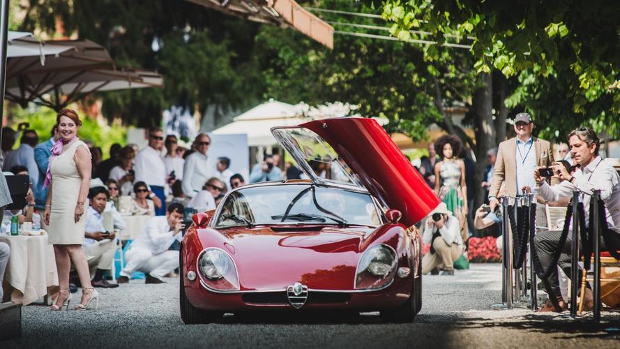 Alfa Romeo trionfa al Concorso di Villa d'Este con la 33 Stradale