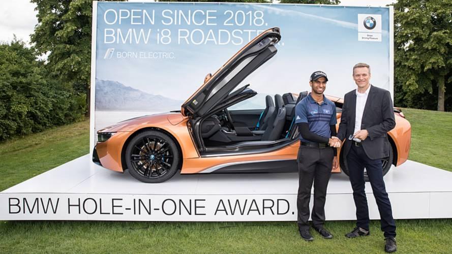 Emboca un hoyo en uno y gana este BMW i8 Roadster