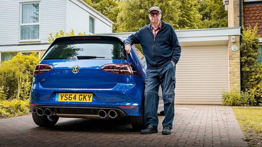 75 yaşındaki sürücü, VW Golf R aracının gücünü iki katına çıkardı