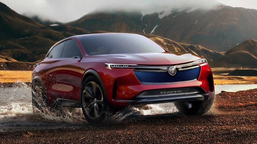 Buick Enspire Concept Imagines Stylish, Electric SUV with 550 HP