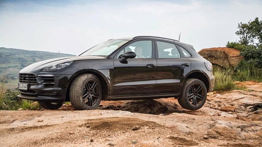 Porsche testet den neuen Macan