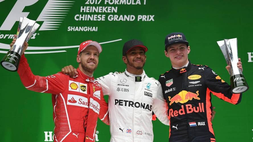 Todos los podios y victorias del GP de China de Fórmula 1