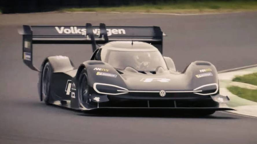VW I.D. R Pikes Peak Looks Fierce In First On-Track Action
