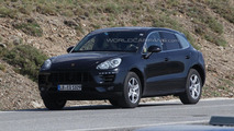 2014 Porsche Macan spy photo 10.7.2013