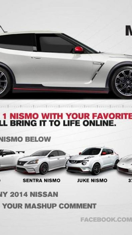 Mash up NISMO models the way you like it