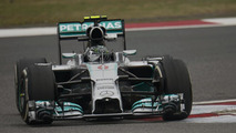Nico Rosberg Mercedes AMG F1 W05 with new short nose 18.04.2014 Chinese Grand Prix practice day