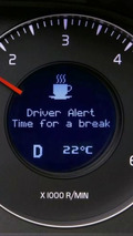 Volvo Driver Alert Control (DAC)