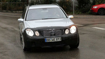 Mercedes E63 AMG Estate Spy Photos