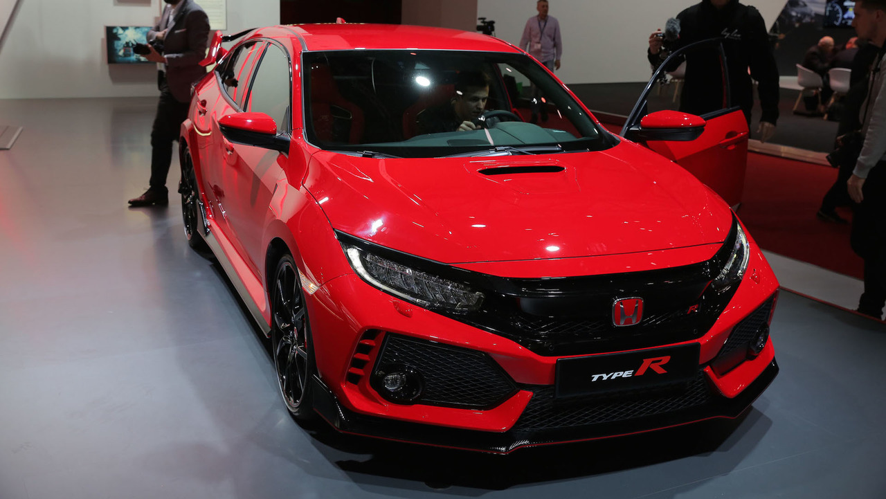 2017 honda civic type r production spec photo. Black Bedroom Furniture Sets. Home Design Ideas