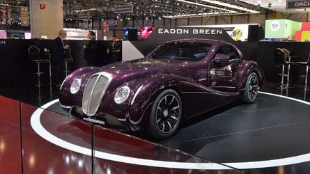 Black Cuillin V12 Coupe reveal in Geneva redefines retro