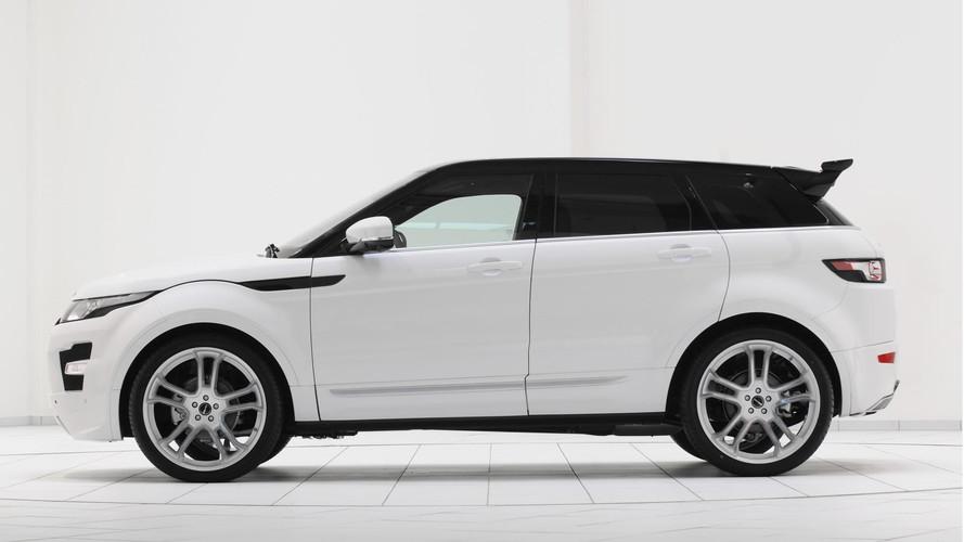 Modelos da Land Rover personalizados pela Startech
