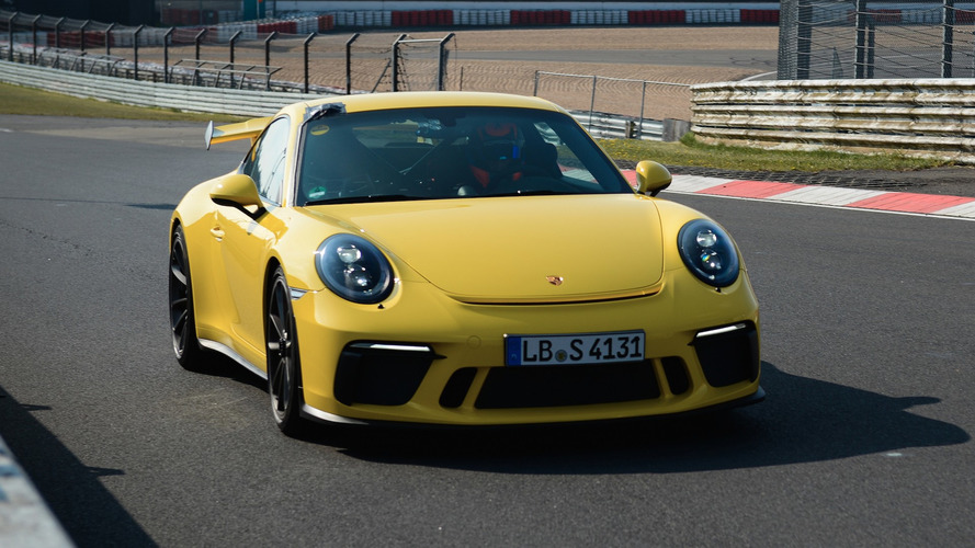 Porsche 911 GT3 Bests Its Own Nurburgring Lap Time
