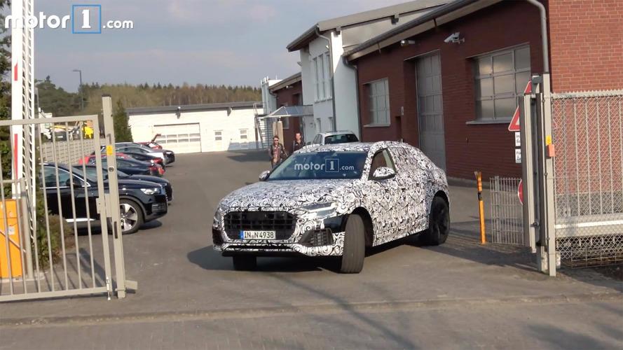 Audi Q8 Nürburgring'i turlarken yakalandı
