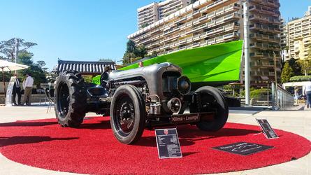 Le tracteur Lamborghini au salon Top Marques de Monaco