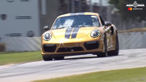 Porsche 911 Turbo S Exclusive Series at 2017 Goodwood Festival of Speed