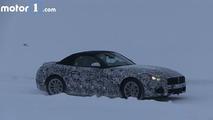 2018 BMW Z5 spy video screenshot