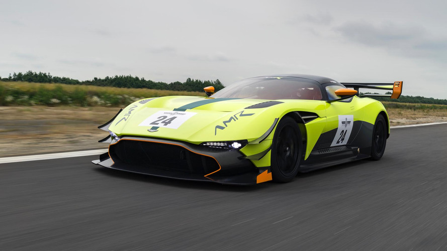 Aston Martin Vulcan AMR Pro, debut triunfal en Goodwood