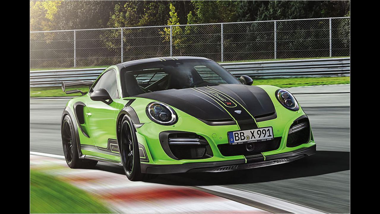GTstreetR: Grün vor Leistung
