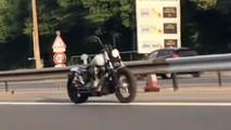 Autonomous motorcycle